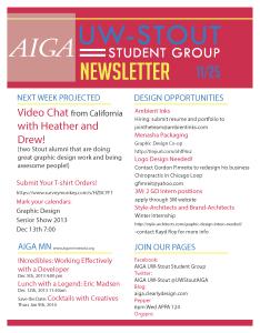 Newsletter 11-25