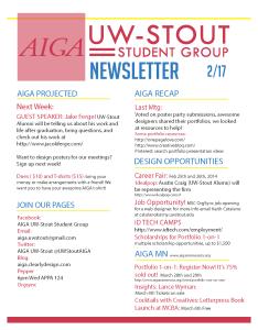 Newsletter 2-17