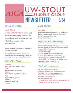 Newsletter 2-24