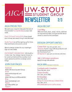 Newsletter 2-3