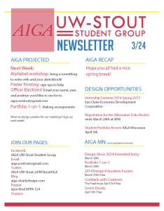 Newsletter 3-24