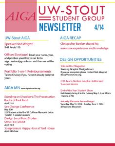 Newsletter 4-14